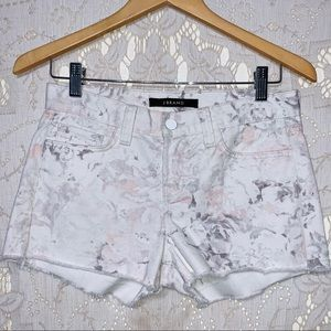 J brand cut off jean shorts size 24 in EUC